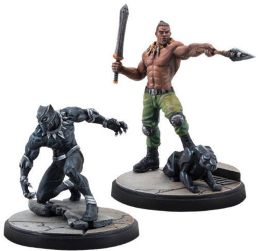 Picture of Marvel: Crisis Protocol - Black Panther and Killmonger Character Pack
