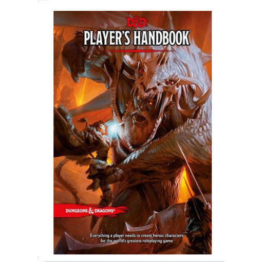 Picture of D&D 5E: Players Handbook