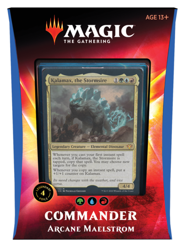 Picture of Commander 20 - Arcane Maelstrom