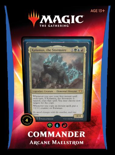 Picture of Commander 20 - Arcane Maelstrom