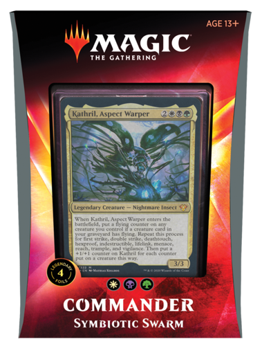Picture of Commander 20 - Symbiotic Swarm