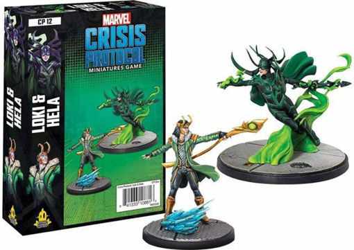 Picture of Marvel: Crisis Protocol - Loki and Hela Character Pack