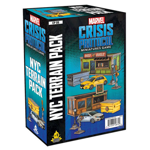 Picture of Marvel: Crisis Protocol - NYC Terrain Pack