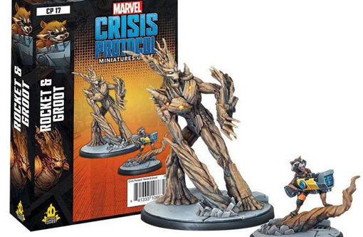Picture of Marvel: Crisis Protocol - Rocket and Groot Character Pack