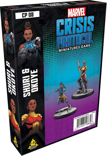 Picture of Marvel: Crisis Protocol - Shuri and Okoye Character Pack