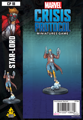Picture of Marvel: Crisis Protocol - Star-Lord Character Pack