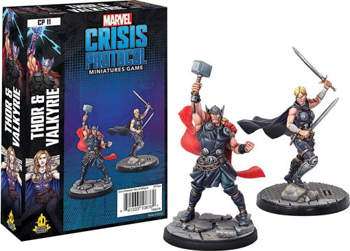 Picture of Marvel: Crisis Protocol - Thor and Valkyrie Character Pack
