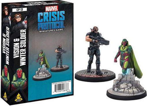 Picture of Marvel: Crisis Protocol - Vision and Winter Soldier Character Pack