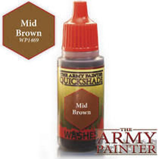 Picture of Warpaints: Mid Brown 18ml