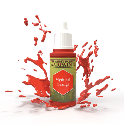 Picture of Warpaints: Mythical Orange 18ml