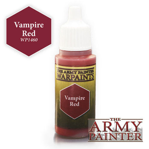 Picture of Warpaints: Vampire Red 18ml