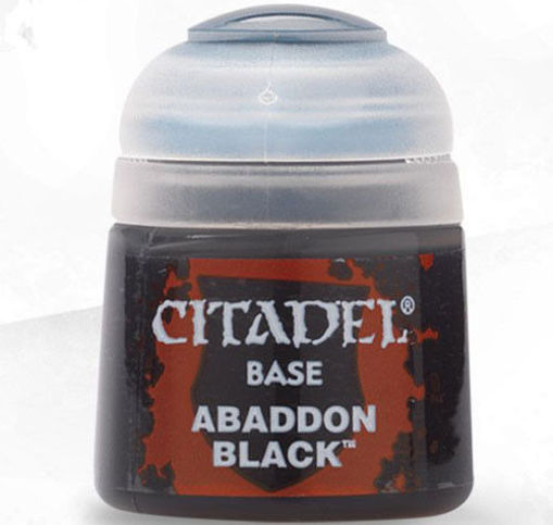 Picture of Citadel Paint: Base - Abaddon Black