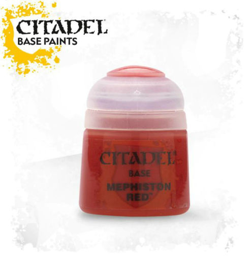 Picture of Citadel Paint: Base - Mephiston Red