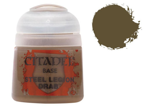 Picture of Citadel Paint: Base - Steel Legion Drab