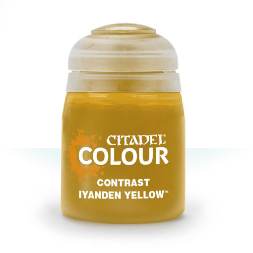 Picture of Citadel Paint: Contrast - Iyanden Yellow