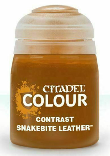 Picture of Citadel Paint: Contrast - Snakebite Leather