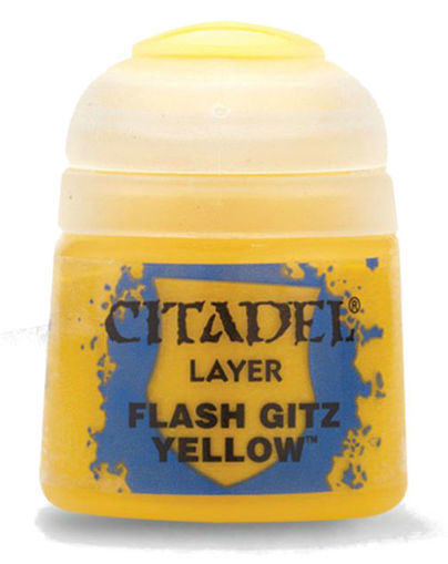 Picture of Citadel Paint: Layer - Flash Gitz Yellow