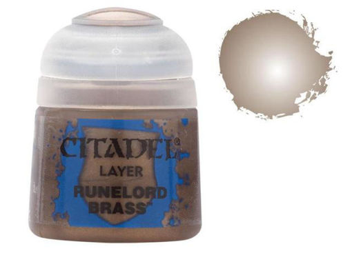 Picture of Citadel Paint: Layer - Runelord Brass
