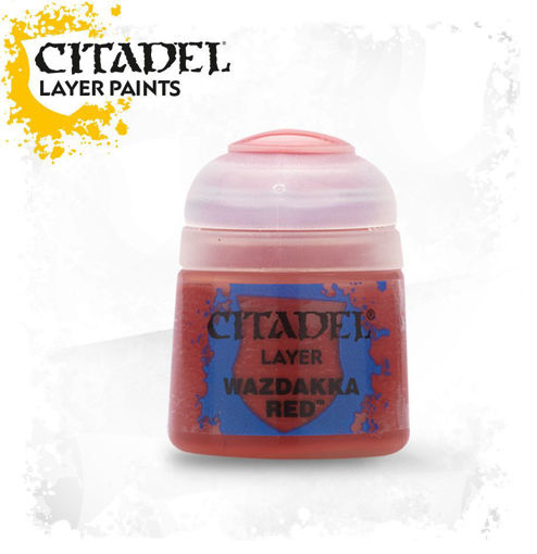 Picture of Citadel Paint: Layer - Wazdakka Red