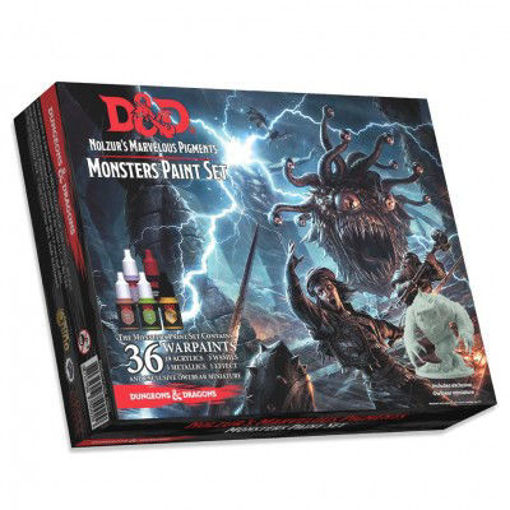 Picture of Dungeons & Dragons Nolzur`s Marvelous Pigments: Monster Paint Set