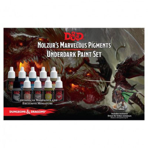 Picture of Dungeons and Dragons Nolzur`s Marvelous Pigments: Underdark Paint Expansion Set