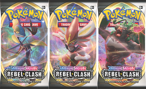 Picture of Pokémon: Rebel Clash Booster