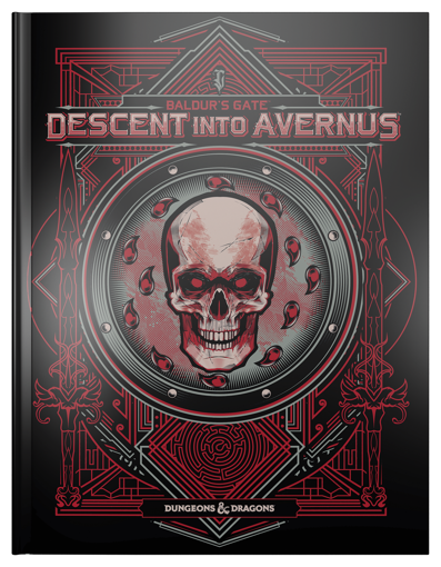 Picture of Dungeons and Dragons RPG: Baldur`s Gate - Descent into Avernus Alternate Cover