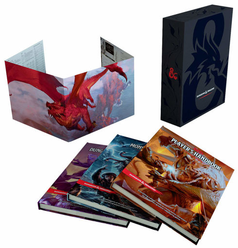 Picture of Dungeons and Dragons RPG: Core Rulebook Gift Set
