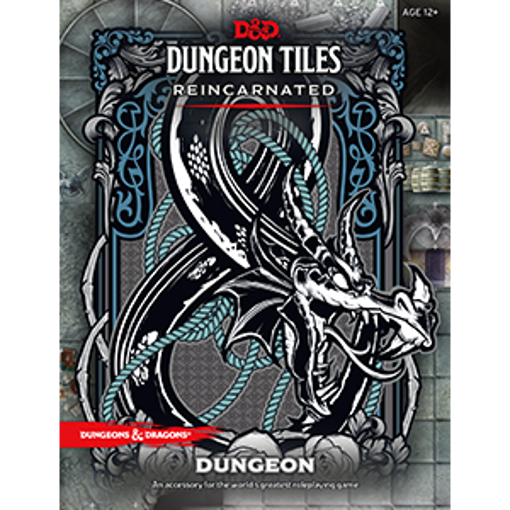 Picture of Dungeons and Dragons RPG: Dungeon Tiles Reincarnated - Dungeon
