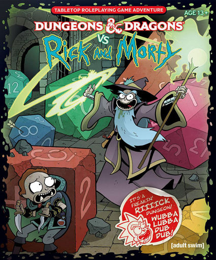 Picture of Dungeons and Dragons RPG: Dungeons & Dragons vs. Rick and Morty - Tabletop RPG