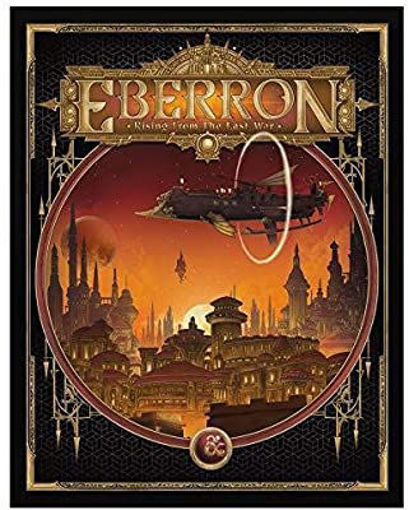 Picture of Dungeons and Dragons RPG: Eberron - Rising from the Last War Alternate Cover (LE)