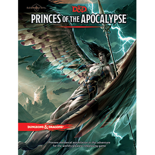 Picture of Dungeons and Dragons RPG: Elemental Evil - Princes of the Apocalypse