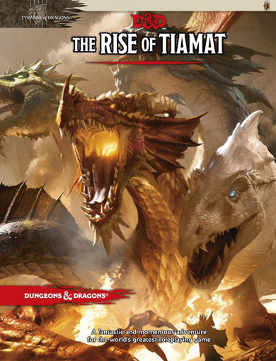 Picture of Dungeons and Dragons RPG: Tyranny of Dragons - The Rise of Tiamat