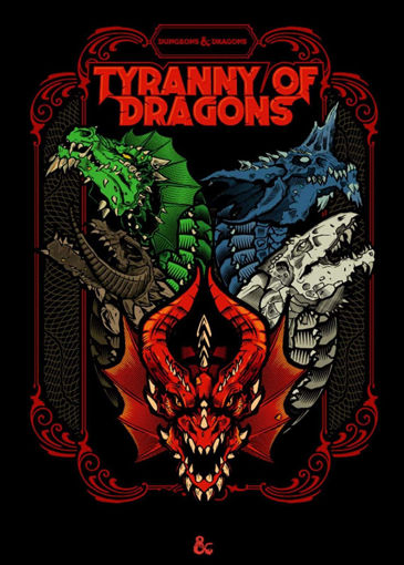 Picture of Dungeons and Dragons RPG: Tyranny of Dragons Alternate Cover (LE)
