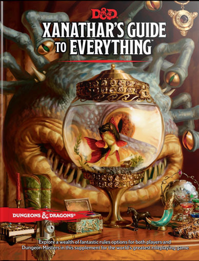 Picture of Dungeons and Dragons RPG: Xanathars Guide to Everything