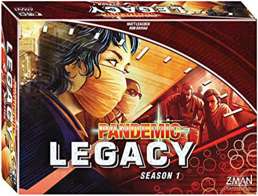 Picture of Pandemic: Legacy Season 1 - Red