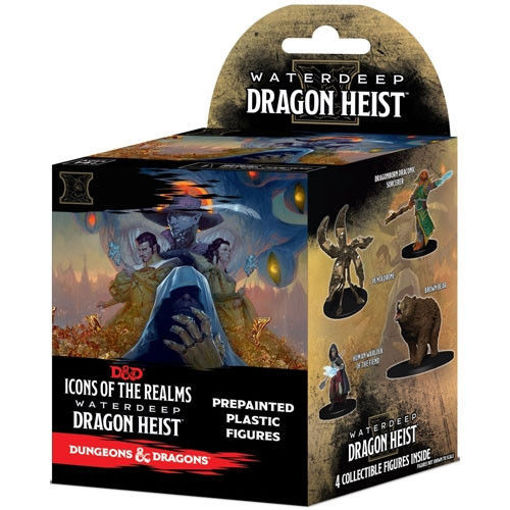 Picture of D&D Icons of the Realms Miniatures: Waterdeep Dragon Heist - Booster Pack