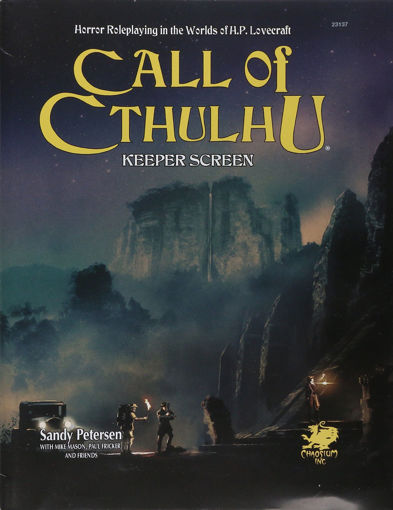 Picture of Call of Cthulhu: Keeper Screen Pack