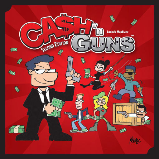 Picture of Cash N Guns (2nd Edition)
