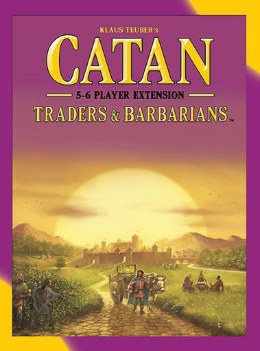 Picture of Catan: Traders and Barbarians 5-6 Player Ext.