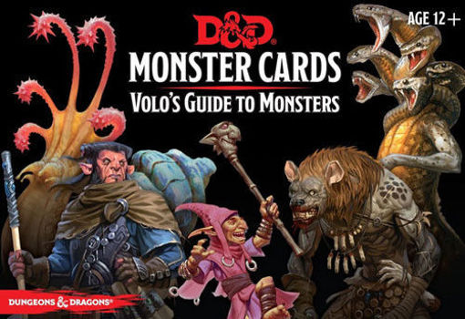 Picture of Dungeons and Dragons RPG: Monster Cards - Volo`s Guide to Monsters (81 cards)