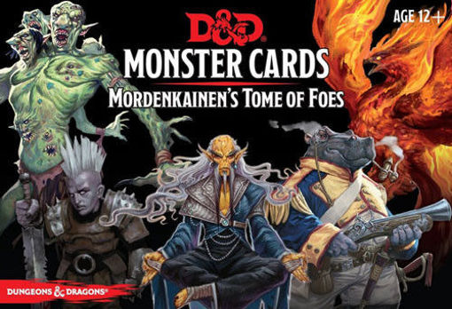 Picture of Dungeons and Dragons RPG: Monster Cards - Mordenkainen`s Tome of Foes (109 cards)