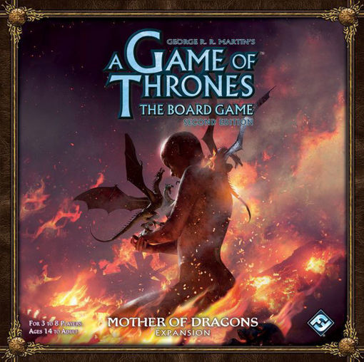 Picture of A Game of Thrones BG: 2nd Ed. - Mother of Dragons Exp.
