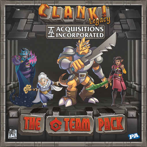 Picture of Clank! Legacy: Acquisitions Incorporated - The `C` Team Pack