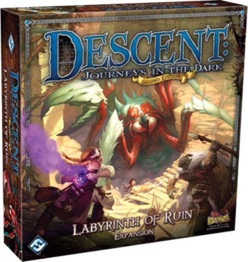 Picture of Descent 2nd Ed.: Labyrinth of Ruin Exp.