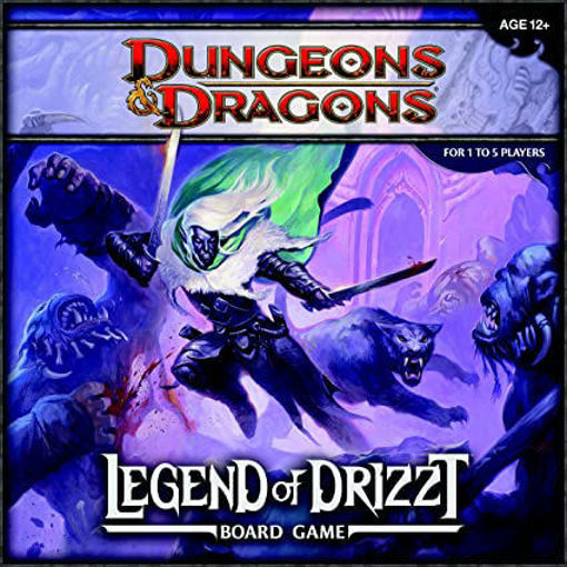 Picture of Dungeons and Dragons: Legend of Drizzt Board Game