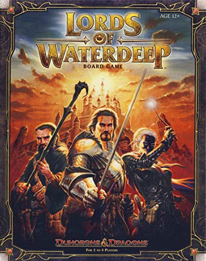 Picture of Dungeons and Dragons: Lords of Waterdeep Board Game
