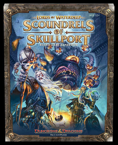 Picture of Dungeons and Dragons: Lords of Waterdeep Board Game Scoundrels of Skullport Expansion