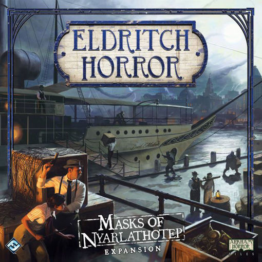 Picture of Eldritch Horror: Masks of Nyarlathotep Expansion