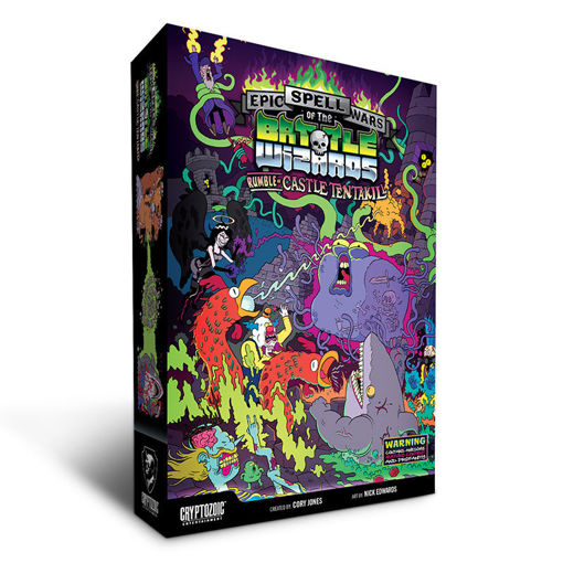 Picture of Epic Spell Wars of the Battle Wizards: 2 - Rumble at Castle Tentakill (stand alone or expansion)